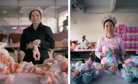 Fábrica de juguetes en China