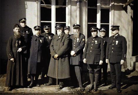 fotografías en color de la Gran Guerra