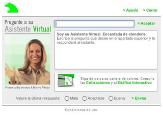 bea, la asistente virtual de caja madrid