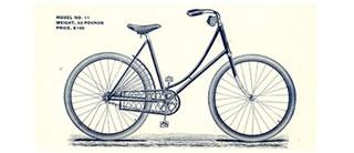 "The Monarch Cycle Co."" title=""Catálogo de bicicletas Monarch, 1894"