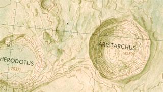 Aristarchus, la Luna.