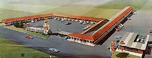 La Fonda Motel, Rt. 54, Liberal, KS
