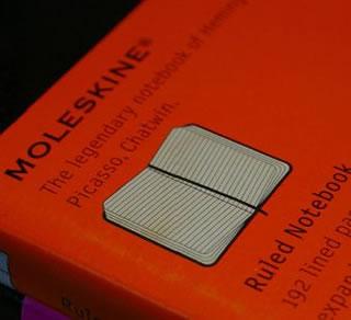 nueva identidad de Moleskine