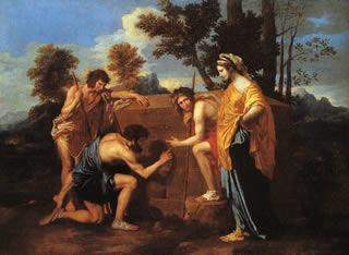 Poussin: Et in Arcadio Ego, 1650