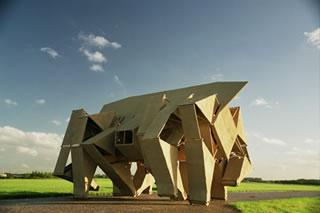 Animalis Rhinoceros Transport, diseño de Theo Jansen