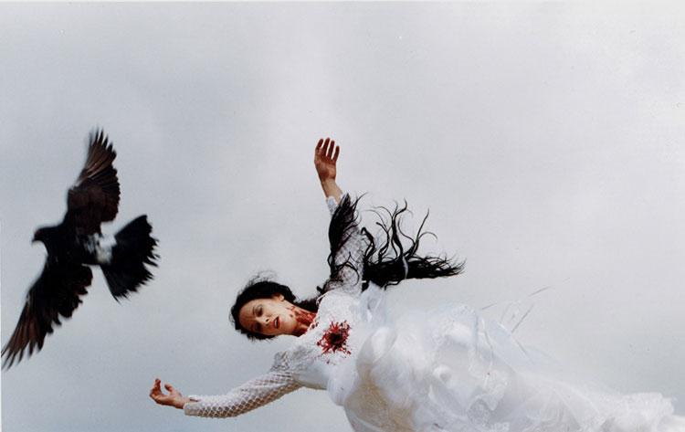 una novia por los aires