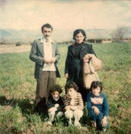 familia kurda en 1992