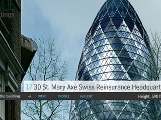 St. Mary Axe Swiss Reinsurance Headquarters, London, England
