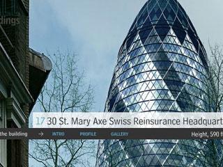 St. Mary Axe Swiss Reinsurance Headquarters, London, England